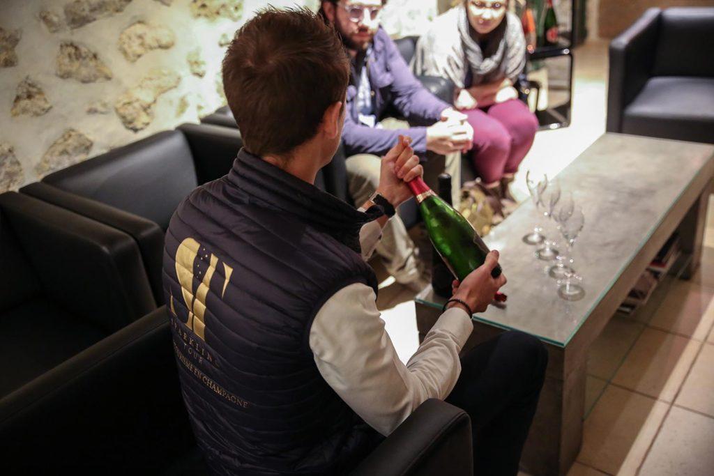 Dégustations Champagnes via Sparkling Tour